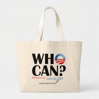 Who Can Jumbo Tote Bag