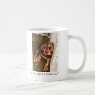 Who can resist a bloodhound? coffee mug
