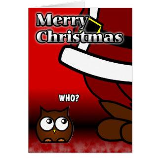Who? Christmas Card