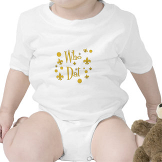 Who Dat s FUN in Gold Tees