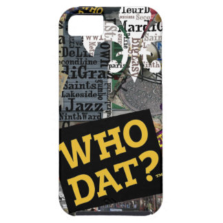 Who Dat t-shirts Case For The iPhone 5