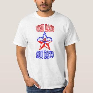 Who Dats 4 Hou Dats T-Shirt