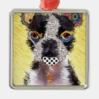 Who does not love Bulldog? Metal Ornament
