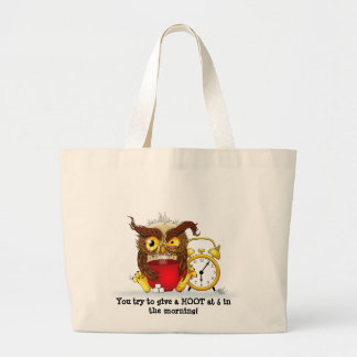 Who gives a HOOT!! Tote Bags