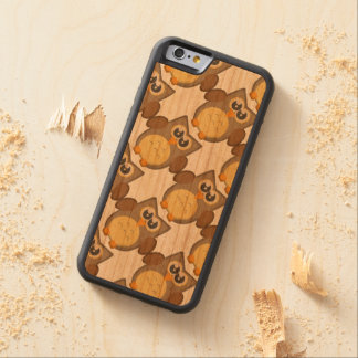 Who gives a Hoot? iPhone 6 Bumper Cherry Wood Case Cherry iPhone 6 Bumper Case
