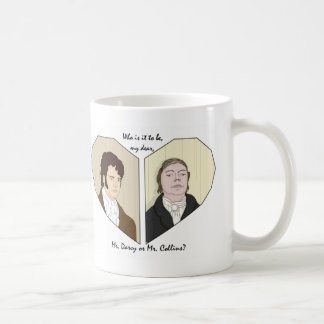 Who is it to be, my dear? coffee mug