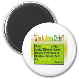 Who Is Jesus Christ? 6 Cm Round Magnet