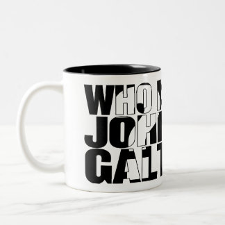 Who is John Galt 11oz mug