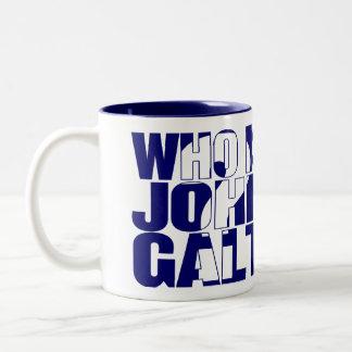 Who is John Galt? 11oz mug blue