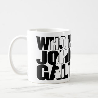 Who is John Galt? 15oz mug
