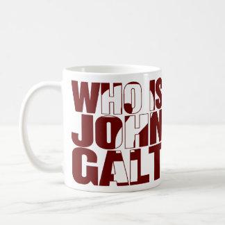 Who is John Galt? 15oz mug red