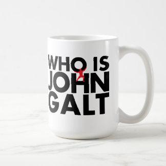 Who is John Galt Basic White Mug