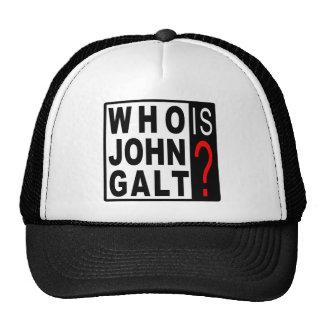 Who Is John Galt? Cap Mesh Hats