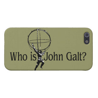 Who is John Galt? iPhone5 Case iPhone 5 Case