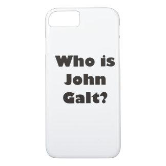 Who is John Galt? iPhone 7 Case