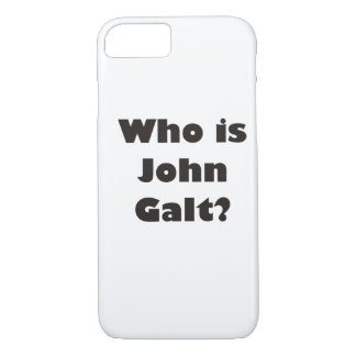 Who is John Galt? iPhone 8/7 Case