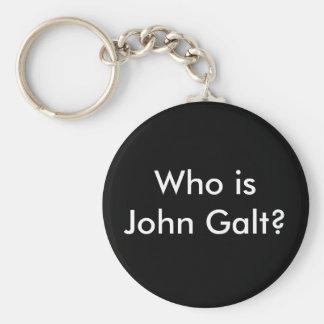 Who is John Galt? keychain
