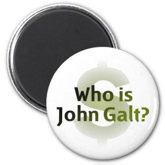 Who Is John Galt? Money Symbol Magnet