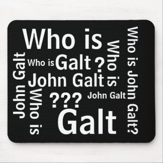 Who is John Galt mouse pad