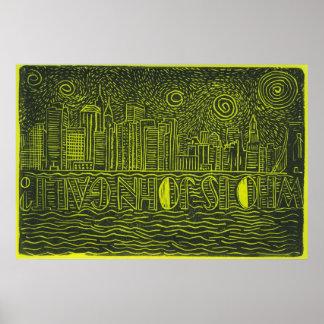 Who Is John Galt...New York City Skyline Poster