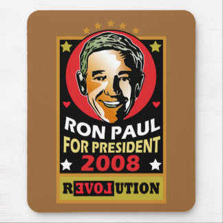 Who is this man? Ron Paul Mouse Pad