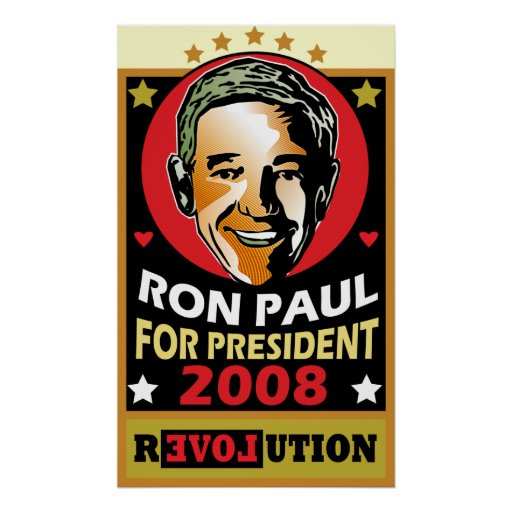 Who is this man? Ron Paul Poster