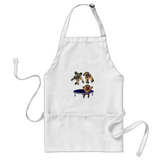 who let the pugs out standard apron