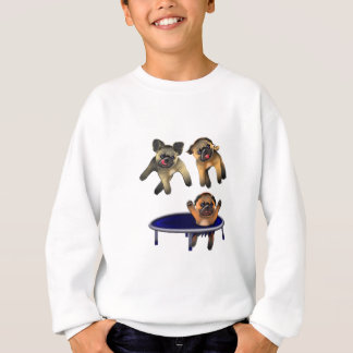 who let the pugs out sweatshirt