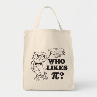 Who Likes Pi?  tote bag