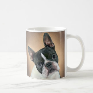 Who Me Boston Terrier Mug