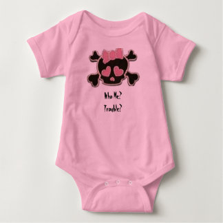 Who Me, Trouble? Baby Bodysuit