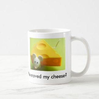 Who moved my cheese? coffee mug