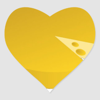Who moved the cheese heart sticker