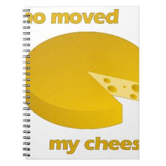Who moved the cheese notebooks
