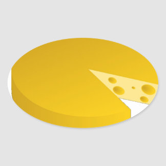 Who moved the cheese oval sticker