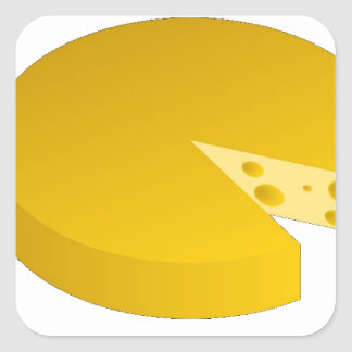 Who moved the cheese square sticker