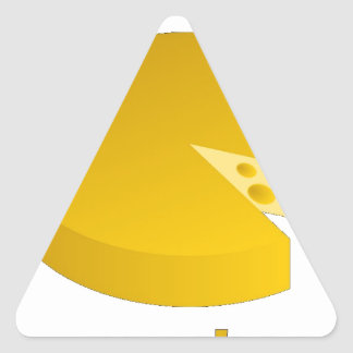 Who moved the cheese triangle sticker