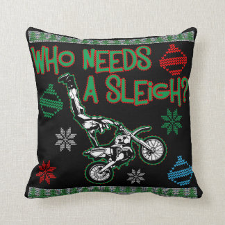Dirt Bike Decorative Cushions & Pouffes | Zazzle.com.au