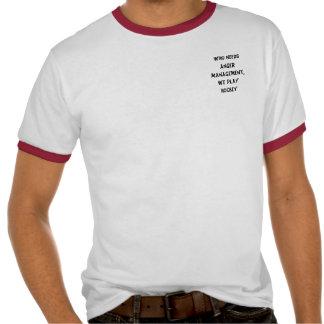 Who needs anger management, we play hockey  tshirt