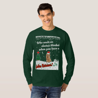 Who Needs Electric Blanket Golden Christmas T-Shirt