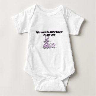 Who needs the Easter bunny? I've got Oma! Baby Bodysuit