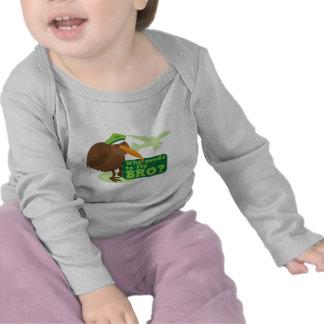 Who needs to fly bro kiwi bird Humor Tees