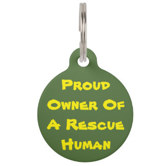 Who Owns Who? Pet Name Tag