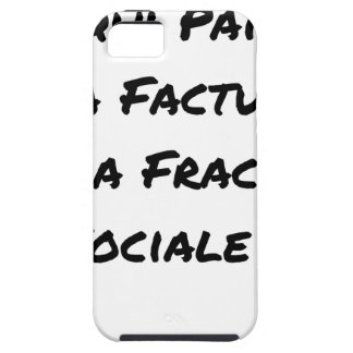 WHO PAYS THE INVOICE OF THE SOCIAL FRACTURE CASE FOR THE iPhone 5