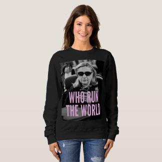 Who Run the World Women's Basic Sweatshirt