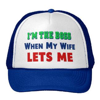 Who s The Boss Trucker Hat