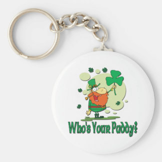 Who s Your Paddy Funny Leprechaun Key Chains