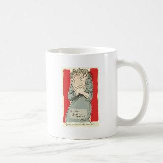 Who says silence is golden? coffee mug