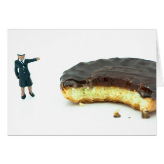 Who stole the jaffa cake? greeting card