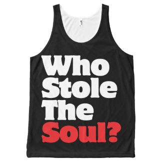 Who Stole The Soul? All-Over Print Tank Top